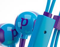 Ear 1 vizualizations for ''PIXUS'' brand