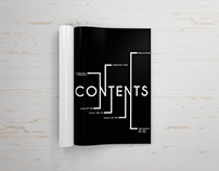 Graphic Design 2:  Table of Contents