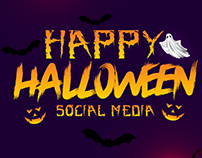 Creative Social Media Designs   Halloween