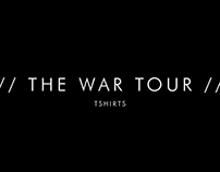 THE WAR TOUR TSHIRTS