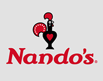 New Nando's Global Visual Identity System