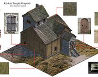 Kodum Temple Outpost Layouts