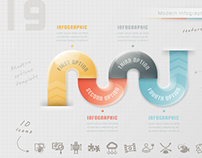 Modern Infographic Options