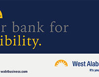West Alabama Bank: Billboard Design