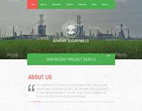 Web Design - BAWANY SUGAR MILLS