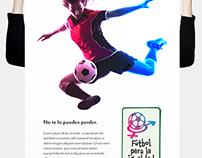 Futbol para la igualdad Propuesta de diseño