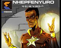 A poster of Nhepfenyuro Man.