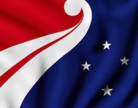 Embrace | New Zealand Flag Design