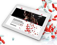 Webdesign CD Sport international