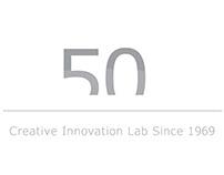 Brand Identity celebrative Logo