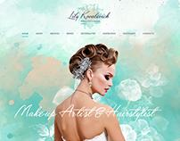 Web site for make up stylist - Lily Kovalevich