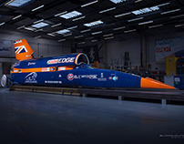 BLOODHOUND SSC Vehicle Wrap