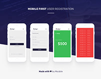 Mobile user registration