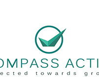 logo design for COMPASS ACTIVE