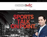Web Design Sports Talk Show in Los Angeles