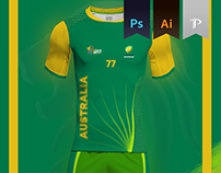 Australia Home kit 2016 - Kabbadi World Cup