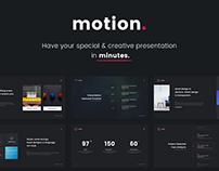 Motion Creative & Multipurpose Template