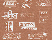Varios logo designs for my project - SATTA