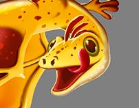Dragons character design
