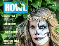 Print Design | HOWL Magazine