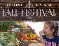 Shone Farm Fall Festival Poster