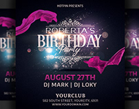 Birthday Party Flyer Invitation Template