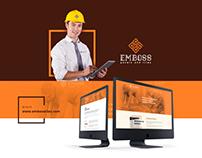 EMBOSS — Branding   Graphic Design   Web Design