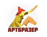 Логотип студии «Артбразер»