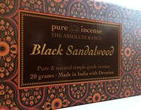 Pure Incense Packaging