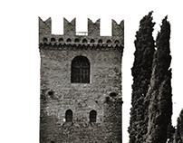 il castello in una gif - Conegliano 1000