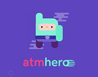 ATMhero UI/UX design