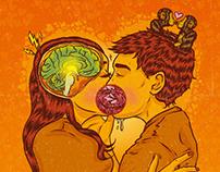 O que acontece com nosso corpo quando beijamos?