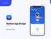 Norhart Door Lock App