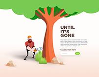 Save Green Landing Page