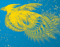 Swan Dragon using Brush Tool (PSD)