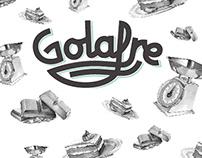 GOLAFRE /2017/ Ilustración, diseño y lettering