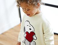 Zara Baby Girl AW 18 - Snoopy Print