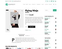 Single Shop Product Page - Nonprofit WordPress Theme
