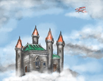 Castle in the Sky- Initial Sketch