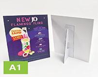 A1 Strut Card Printing