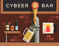 Cybeer Bar - Pour Beer With Your Phone