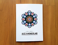 'Alice in Wonderland' - Book Design