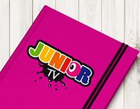 Junior tv corporate identity