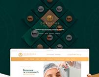 Gorgeous - сайт клиники эстетической медицины