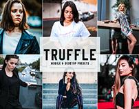Free Truffle Mobile & Desktop Lightroom Presets