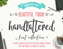 Beautiful Friday Typeface