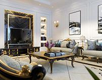 Classic Reception & Living Room