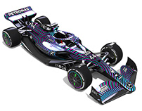 Mercedes F1 2021 camouflage livery