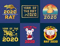 Chinese New Year T-Shirt Design.