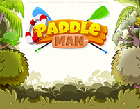 Paddle Man Game Project